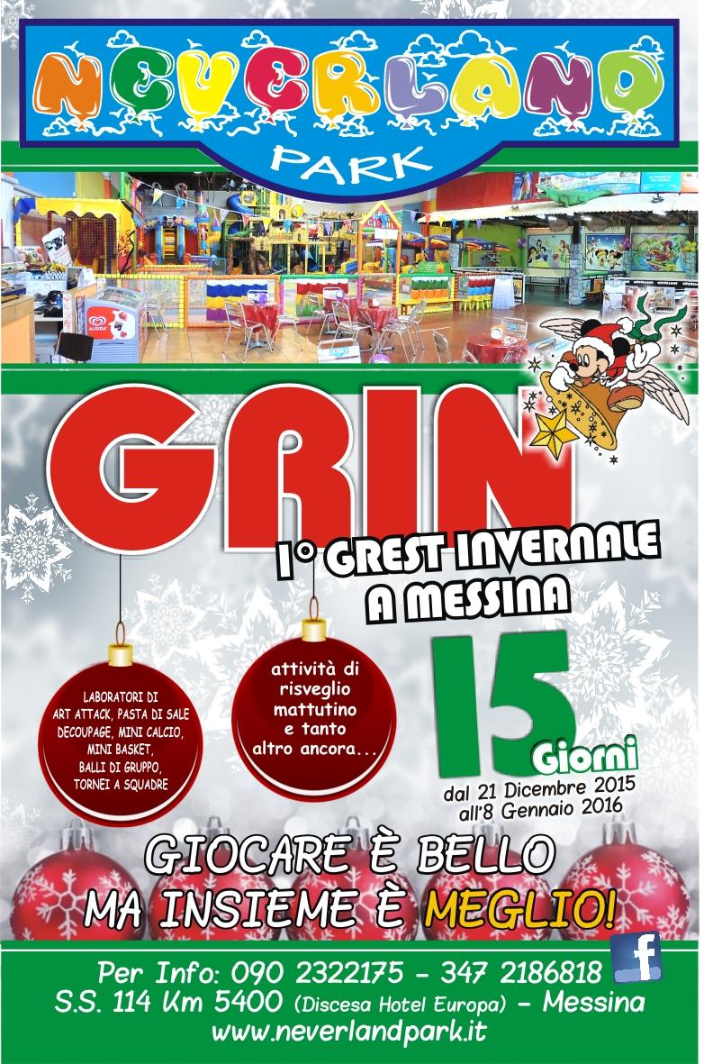 Locandina GRIN 21 11 2015