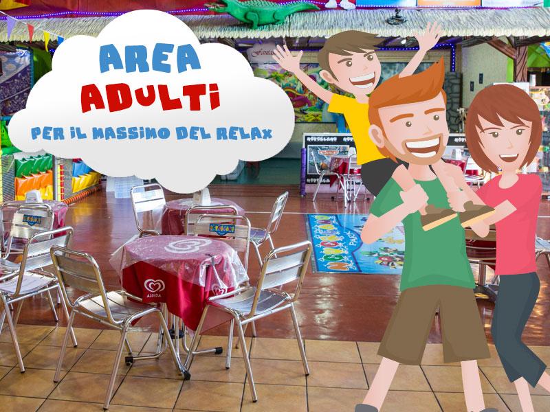 Parco giochi con zona relax per adulti Messina